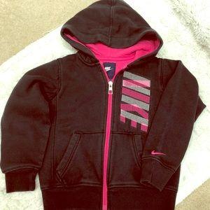 Nike Cotton Zipup Hoodie Kids Small Toddler (5)